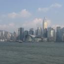 Гонконг, Ванчай, выставочный комплекс (в центре)