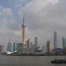 Шанхай, вид на район Пудун со стороны р.Хуанпу